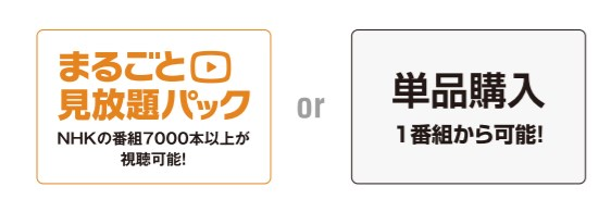 NHKオンデマンドの料金体系を公式サイトで調べた結果